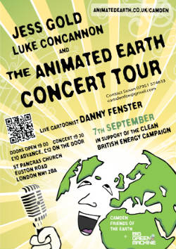 Animated Earth Concert, St Pancras church