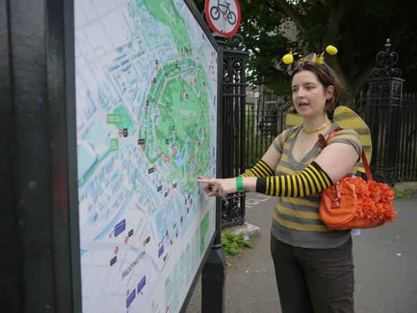 Regents Park map
