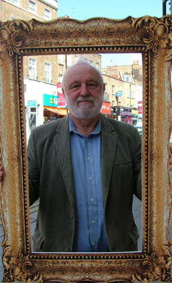 MP Frank Dobson pulls a serious face