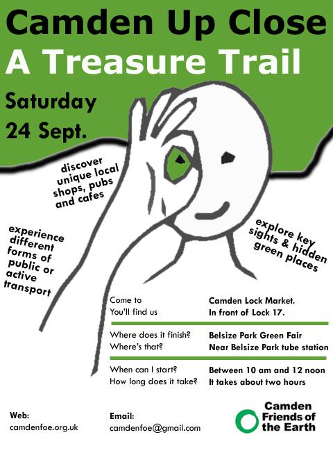 Treasure Trail, Saturday 24 September